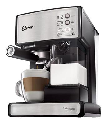 CAFETERA ESPRESSO PRIMALATTE MANUAL 15 BARES OSTER 6602S