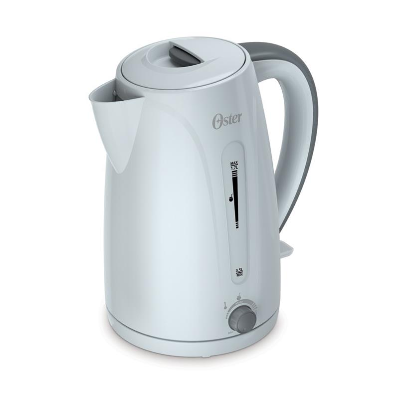 PAVA ELECTRICA OSTER 4970 PARA MATE 1.7 L Color Blanco