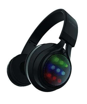 AURICULAR INALAMBRICO BT COBY CHBT-724 LUCES RGB