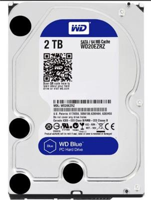 DISCO RIGIDO WESTERN DIGITAL BLUE 2TB INTERNO