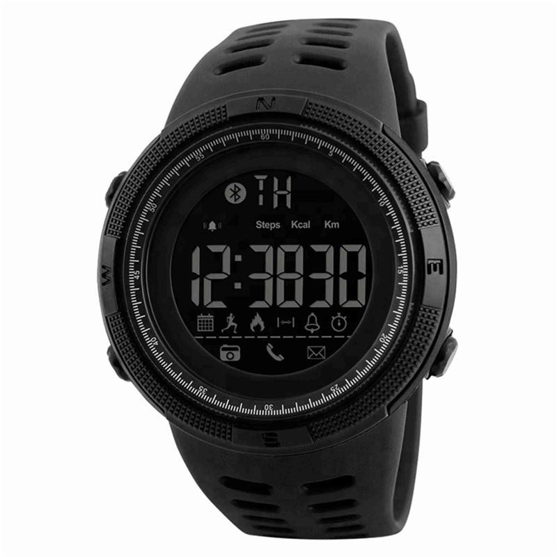 RELOJ DIGITAL DE PULSERA SKMEI 1250 SMART WATCH SUMERGIBLE SPORT ALARMA CRONOMETRO CALENDARIO