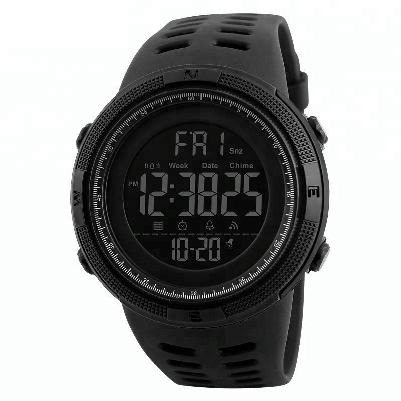RELOJ DIGITAL DE PULSERA SKMEI 1251 SUMERGIBLE SPORT ALARMA CRONOMETRO CALENDARIO WATER PROOF