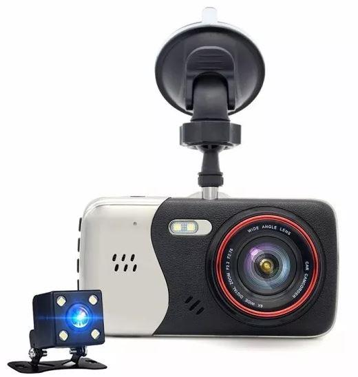 CAMARA TAIHUA DUAL PARA AUTO DVR T810 LCD 4 FULL HD 12MP