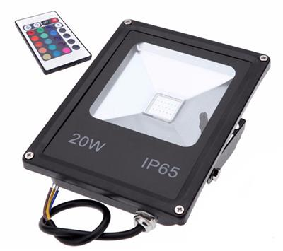 REFLECTOR LED 20W ERIC IP66 RGB