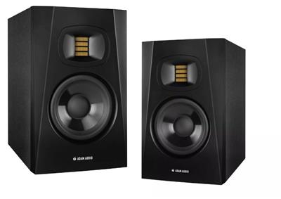 KIT X2 PARLANTES ADAM AUDIO T5V MONITOR DE ESTUDIO 5