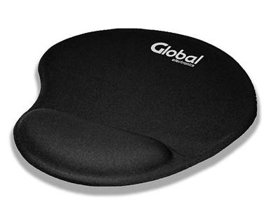 PAD MOUSE CON GEL GLOBAL NEGRO