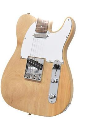 GUITARRA ELECTRICA MEMPHIS TL NATURAL WOOD INDUSTRIA NACIONAL