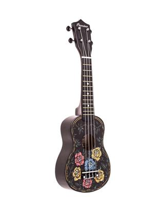 UKELELE SOPRANO BAMBOO DISEÑO BD-33 ROCK AND ROLL