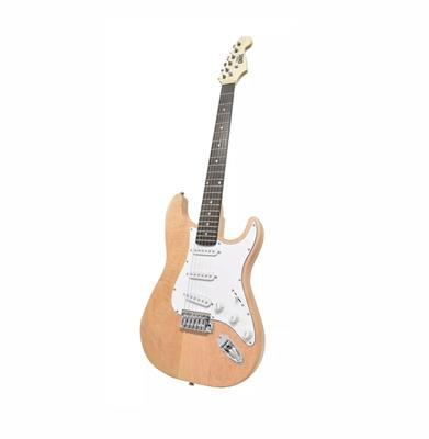 GUITARRA ELECTRICA ONAS STRATOCASTER NATURAL WOOD