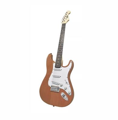 GUITARRA ELECTRICA ONAS STRATOCASTER DARK WOOD