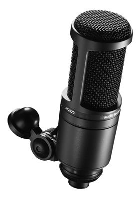 combo mic at2020 audio technica + filtro antipop