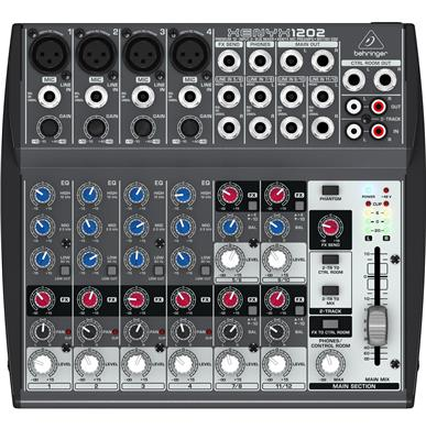 MIXER CONSOLA BEHRINGER XENYX 1202 12 CANALES