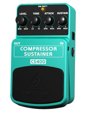 PEDAL BEHRINGER CS400 COMPRESSOR SUSTAINER PARA GUITARRA