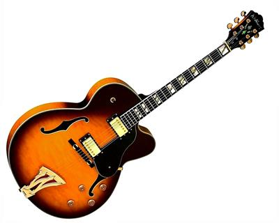 GUITARRA ELECTRICA WASHBURN J5 TOBACCO SUNBURST