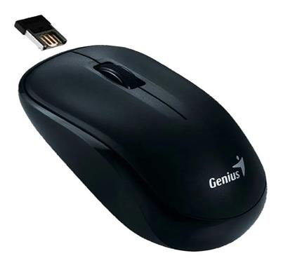 MOUSE INALAMBRICO GENIUS NX-7000 BLUE EYES NEGRO