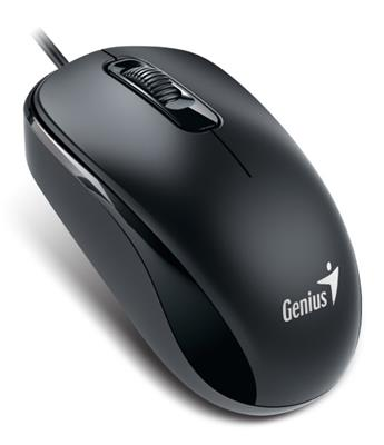 MOUSE GENIUS USB DX-110 NEGRO