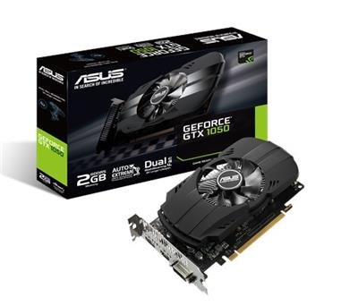 PLACA DE VIDEO GEFORCE ASUS GTX1050 DDR5 2G