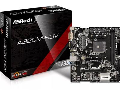 MOTHER ASROCK A320M-HDV AM4 HDMI