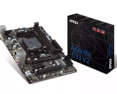 MOTHER MSI A68HM-E33 V2 AMD FM2+/FM2