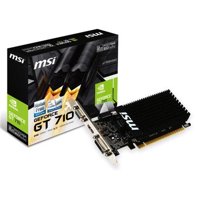 PLACA DE VIDEO MSI GEFORCE GT710 DDR3 1G HDMI