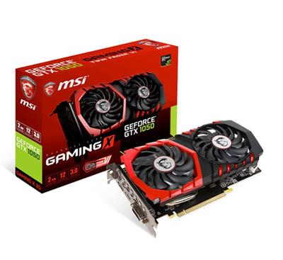 PLACA DE VIDEO GEFORCE MSI GTX1050 GAMING X DDR5 2G