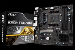 MOTHERBOARDS MSI B350M PRO-VHD AM4