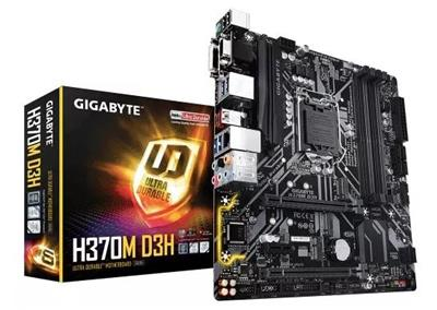 MOTHER GIGABYTE H370M DS3H LGA 1151 INTEL SOPORTA GENERACION 8