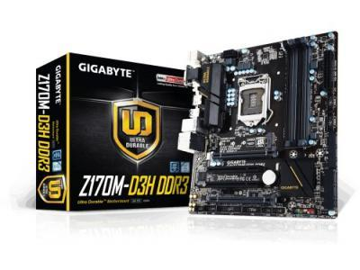 MOTHER GIGABYTE GA-Z170M-D3H DDR3 1151