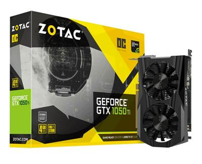 PLACA DE VIDEO ZOTAC GEFORCE GTX 1050TI DDR5 4G
