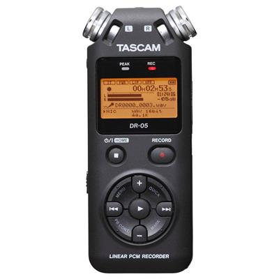 GRABADOR DIGITAL PORTATIL TASCAM DR05 VERSION 2