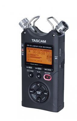 GRABADOR DIGITAL PORTATIL TASCAM DR40