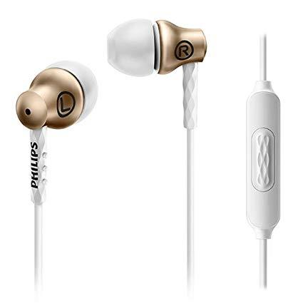 AURICULAR PHILIPS SHE8105 IN-EAR DORADO