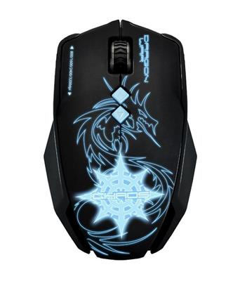 MOUSE GAMER DRAGON WAR G7 CHAOS 3200 DPI + MOUSE PADPAD