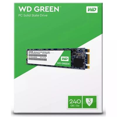 DISCO DE ESTADO SOLIDO SSD 240GB WD GREEN M2