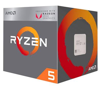 MICRO AMD RYZEN 5 2400G AM4 3.9GHZ