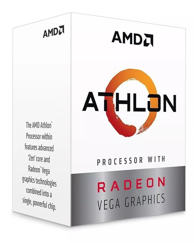 MICRO AMD ATHLON 3.5GHZ AM4 3000G RADEON VEGA 3