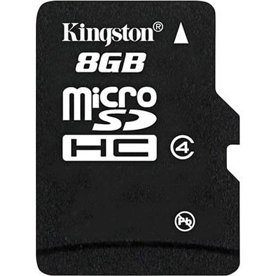 MEMORIA MICRO SD 8GB KINGSTON CLASS4