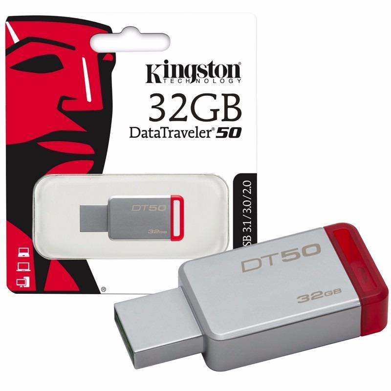 PENDRIVE 32GB KINGSTON DATATRAVELER 50 3.1