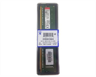 MEMORIA RAM DDR4 8GB 2666 KINGSTON