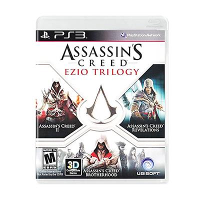 JUEGO ASSASSINS CREED EZIO TRILOGY PS3