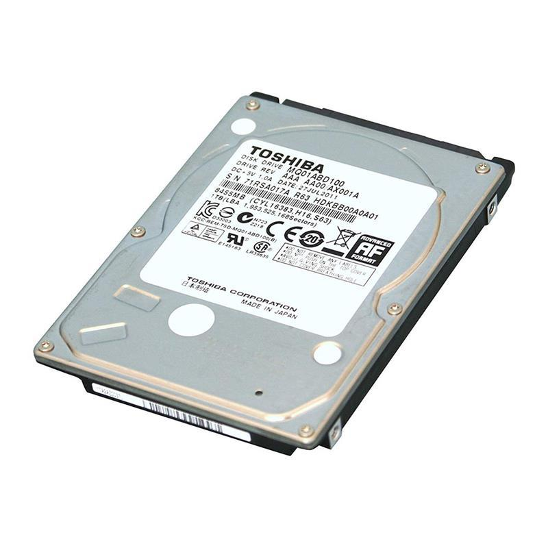 DISCO RIGIDO NOTEBOOK TOSHIBA 1TB 5400 SLIM