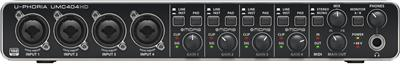 PLACA DE SONIDO BEHRINGER UMC 404 HD INTERFACE AUDIO USB PC U-PHORIA