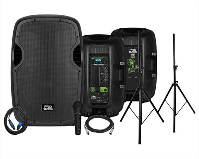 PARLANTES INALAMBRICOS PRO BASS POWER STAGE 215 15
