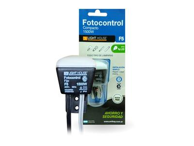 FOTOCONTROL COMPACTO ANTHAY 1500W F5