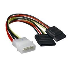 CABLE SATA POWER Y GRIEGA MOLEX A 2 SATA