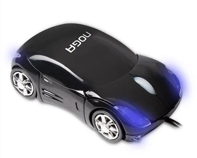 MOUSE OPTICO NOGANET AUTO DEPORTIVO USB