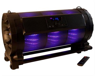 PARLANTE NOGA BOOMBOX NG-B838 46W BLUETOOTH CON LUCES RGB 9 COLORES