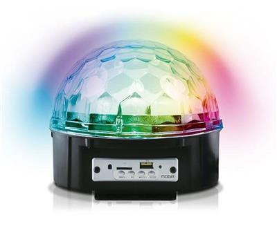 MAGIC BALL LUCES LED NOGANET SPHERE A2010 PARLANTE BT