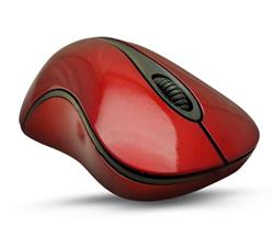 MOUSE OPTICO USB OVERTECH MO-412 ROJO