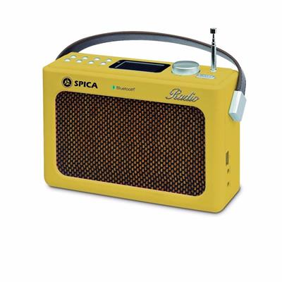 RADIO SPICA AM/FM BLUETOOTH USB Sp-219A RETRO